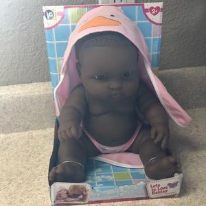 New JC toys baby doll measures 9in sitting